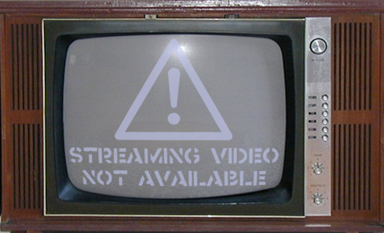 video streaming is not available