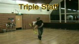 Triple Firestaff (No Juggling)
