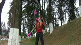 pink pipe juggling (conejo lunar)