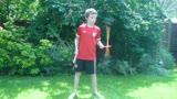 Devil Sticks - Zak. Aged 10