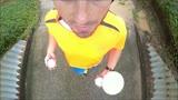Backwards Joggling Marathon Training