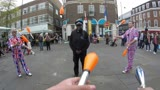 Police Clubbing on St Georges Day