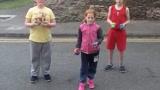 Kids all 5 ball flashing together