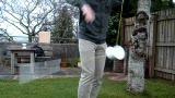 Jem gets into his winter slacks