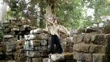Staff & Ring playing around Angkor Wat