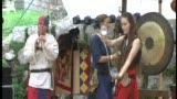 Kontaktjonglage - Kerry Balder - first performance at a ren fair